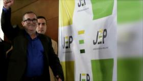 Comienza la comparecencia del partido FARC ante la justicia