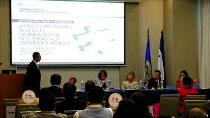 Diversos sectores apoyan comitiva anticorrupción en Honduras