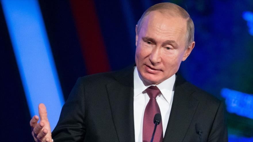 Putin: Europa no quiere misiles de EEUU, pero calla por miedo | HISPANTV