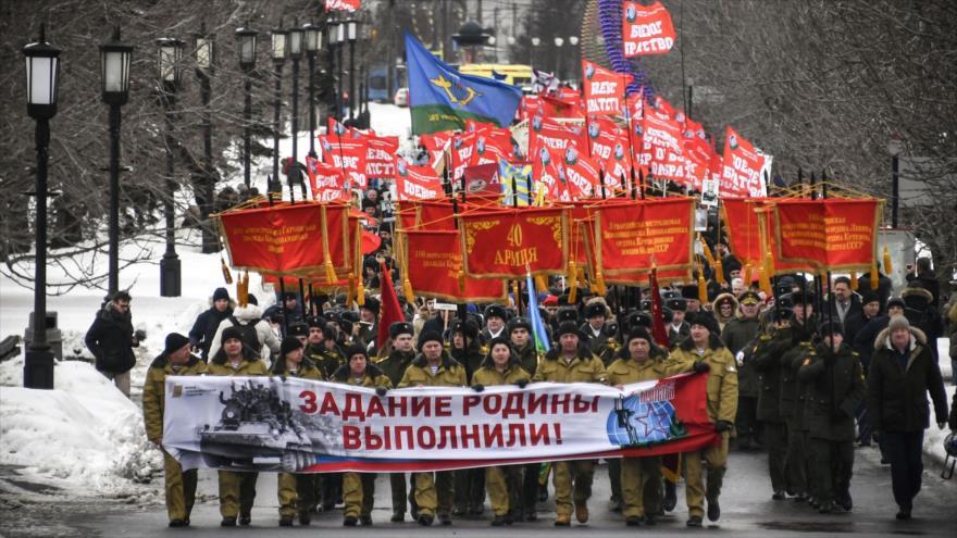 Rusia conmemora el 30.º aniversario de su retirada de Afganistán