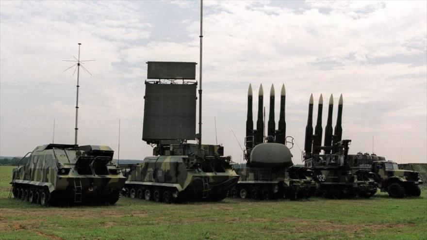 Vídeo muestra test del sistema de misiles ruso Buk-M2E en Venezuela