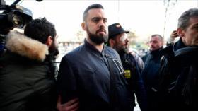 """Uno de los líderes de """"chalecos amarillos"""" va a juicio en Francia"""