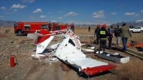 Se estrella un avión de entrenamiento en Irán; mueren dos personas