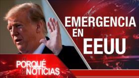 El Porqué de las Noticias: Advertencias de Irán. EEUU en emergencia nacional por muro de Trump. Elecciones en España