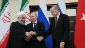 Turquía aboga por operaciones conjuntas con Rusia e Irán en Siria