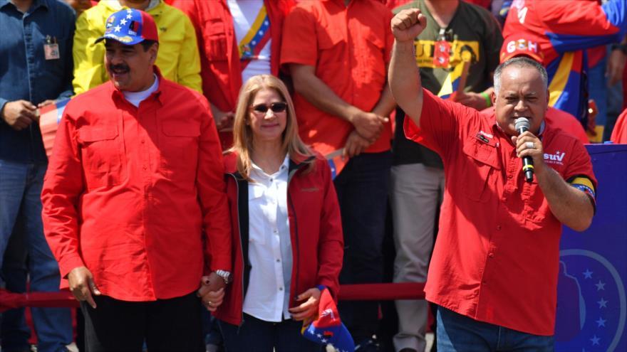 Caracas acusa a oposición de ser agente y soldado de Trump