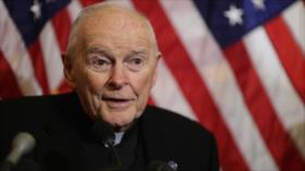 El papa Francisco expulsa a excardenal de EEUU por abuso sexual