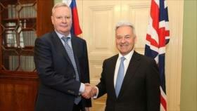 Reino Unido y Rusia hablan por primera vez en 11 meses