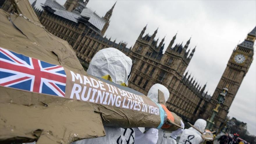 'Exportaciones de armas del Reino Unido a Riad son ilegales'