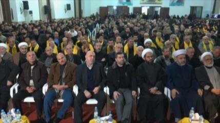 Aniversario de los líderes mártires de Hezbolá en El Líbano