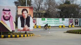 Bin Salman pospone su visita a Paquistán en medio de protestas