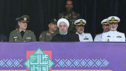 Irán rechaza presencia de potencias agresoras en el Golfo Pérsico