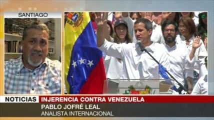 Jofré: 'Ayuda' de EEUU a Venezuela es un 'caballo de Troya'