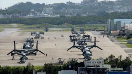 La mayoría en Okinawa dice NO a la reubicación de base de EEUU
