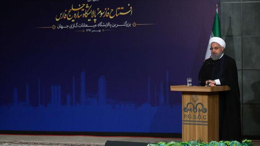 Rohani: el avance de Irán significa el fracaso de las sanciones | HISPANTV
