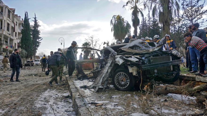 Doble atentado en Idlib deja al menos 24 muertos y 51 heridos