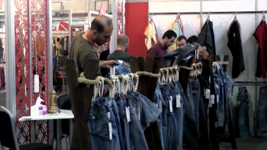 Amplia participación en Feria de la Industria Textil en Damasco