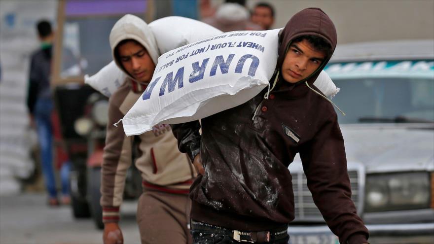 UNRWA: Asedio israelí provoca inseguridad alimentaria en Gaza