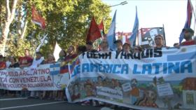 Argentinos rechazan invasión contra Venezuela