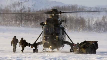 Rusia dice que responderá al aumento de militarismo en el Ártico