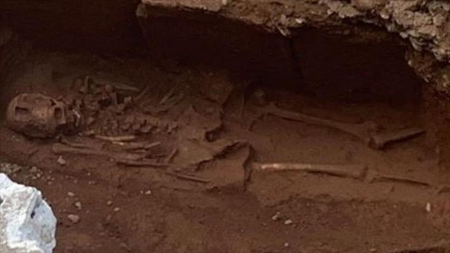 Arqueólogos hallan enterramiento romano con varios cuerpos