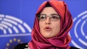 Novia de Khashoggi pide a UE imponer severas sanciones contra Riad