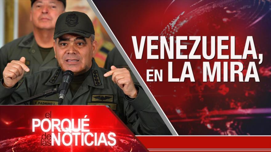 El Porqué de las Noticias: Defensa de Venezuela. Fuerza Espacial de EEUU. Crisis siria