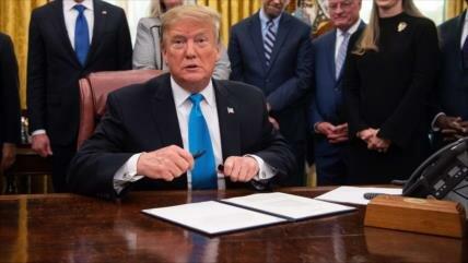 Trump firma un proyecto de ley que bloquea venta de F-35 a Turquía