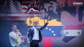 """Guaidó: amenaza """"humanitaria"""" y fábrica de marionetas"""