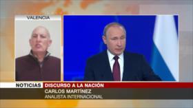 """Martínez: EEUU hace de Europa su """"trinchera"""" frente a Rusia"""