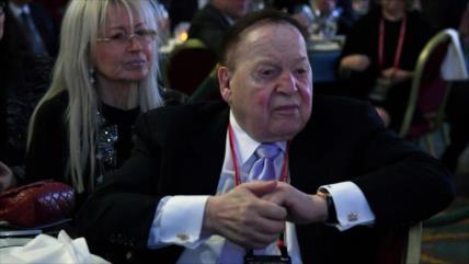 Investigan a megadonante sionista Adelson por 'genocidio'