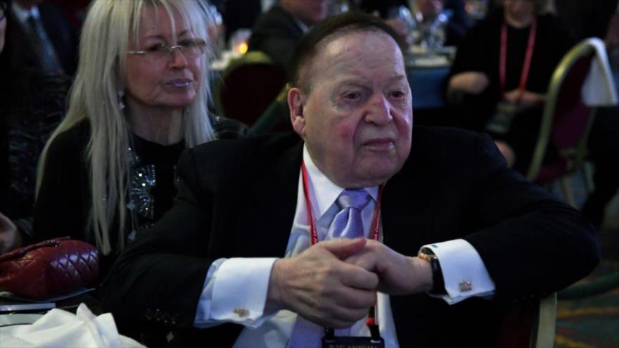 Investigan a megadonante sionista Adelson por 'genocidio' | HISPANTV