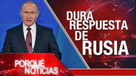 El Porqué de las Noticias: Rusia apuntaría a EEUU. Tensión Irán-EEUU. Reforma a pensiones en Brasil
