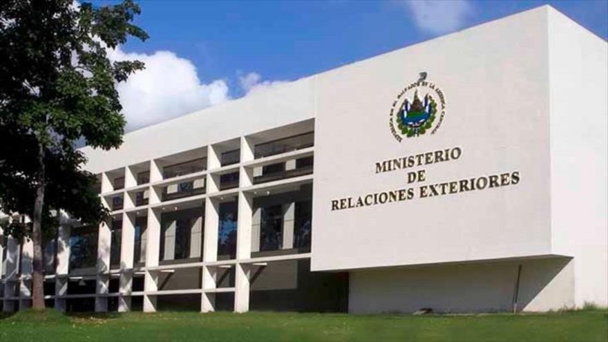 La oficina del Ministerio de Exteriores de El Salvador, en San Salvador, la capital.