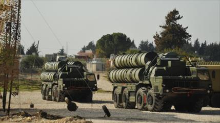 Siria, prácticamente lista para apuntar cazas israelíes con S-300