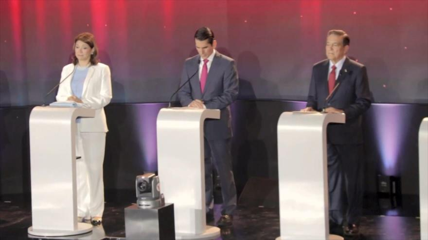 Candidatos a la presidencia de Panamá enfrentan primer debate