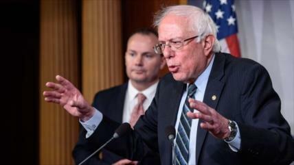 Sanders promete derrota electoral del 'racista, sexista' Trump