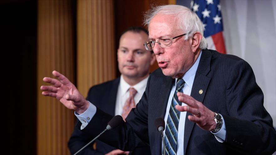 Sanders promete derrota electoral del 'racista, sexista' Trump | HISPANTV
