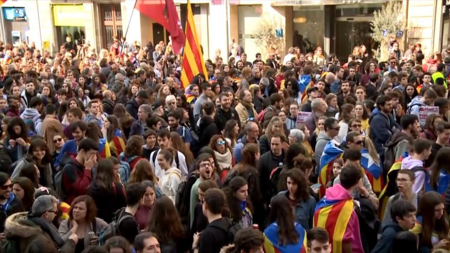 Huelga general en Cataluña por juicio a líderes independentistas