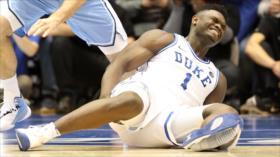 Acciones de Nike sufren pérdidas por zapatilla rota de Williamson
