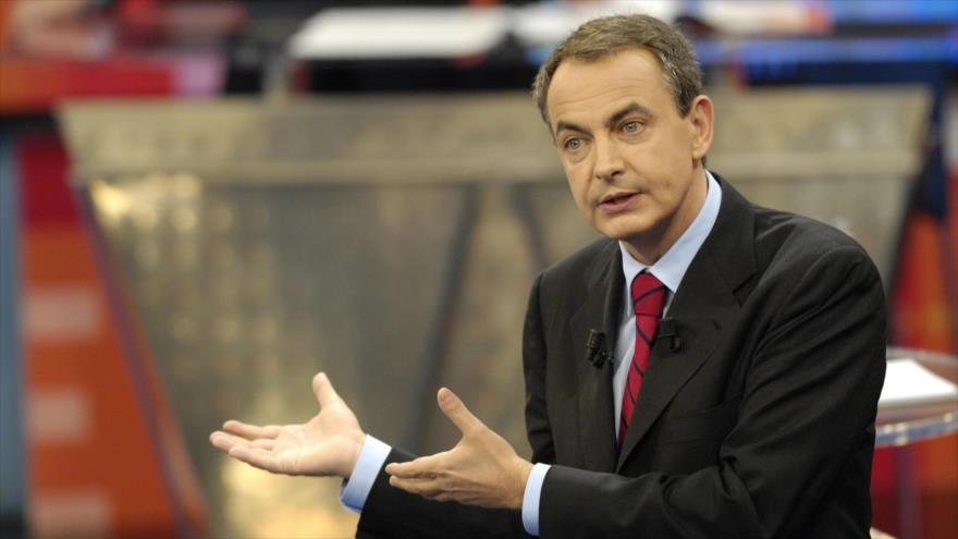 Zapatero: EEUU y Europa deben apoyar el diálogo en Venezuela