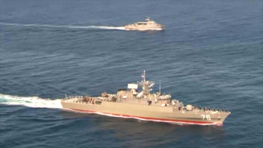 Ejército de Irán lanza Gran Maniobra Naval en Golfo Pérsico