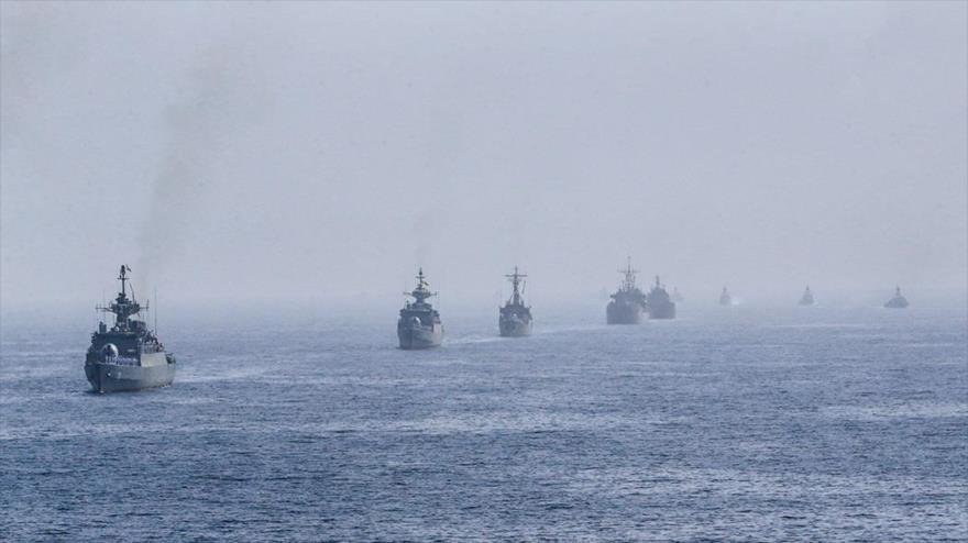 Irán lanza un gran ejercicio naval desde Ormuz hasta océano Índico