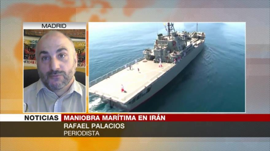 Palacios: Maniobra de Irán es un mensaje de advertencia a Israel