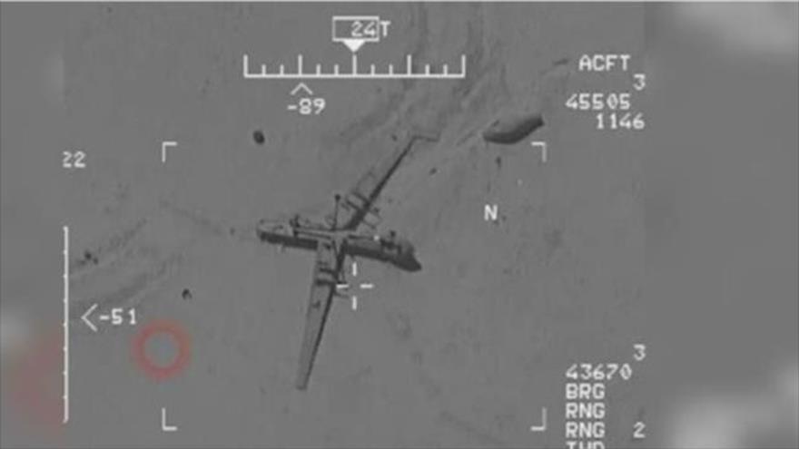 Irán revela imágenes de cómo EEUU bombardea su propio dron