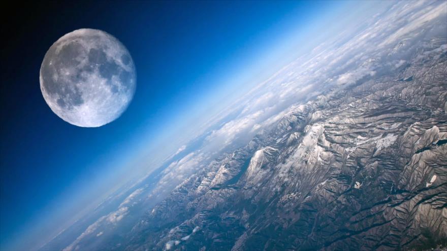 Estudio: Luna orbita dentro de la atmósfera terrestre y no fuera | HISPANTV