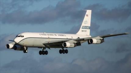 Ejército de EEUU realiza vuelo de vigilancia sobre Rusia