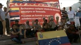 Salvadoreños se solidarizan con el pueblo y Gobierno de Venezuela