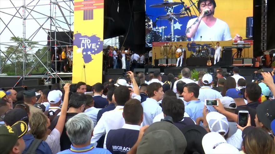 Cúcuta: Concierto a ritmo de golpe de Estado en Venezuela
