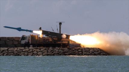 Irán prueba misiles Qadir y Qader en el Golfo Pérsico